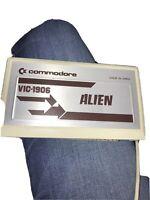 Commodore VIC- 1906 Video Game Cartridge  Alien  Japan
