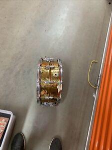 Vintage Ludwig hammered copper snare