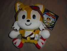 Happy Tails emoji plush TOMY sonic the hedgehog boom new with tag