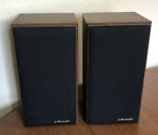 Polk Audio M4.5 Monitor Series Bookshelf Woodgrain Speakers Nice!