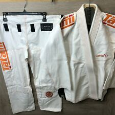 Tatami Fightwear Size F3 Gii White and Orange Premium Kimono Estilo 6.0 NEW
