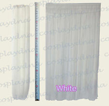 """24"""" White Heat Stylable Hair Weft Extention (3 pieces) Cosplay DNA 7101"""