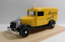 Voitures, camions et fourgons miniatures jaunes Eligor 1:43