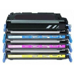 Set of 4 CMYK Toner Cartridges for Canon 711 LBP5300 MF8450/9130/9170/9220/9280
