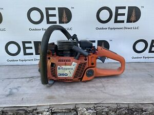 Husqvarna 350 Chainsaw / Good Project Saw See Photos & Read Notes - SHIPS FAST