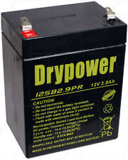 12SB2.9PR 12V 2.9Ah Cyclic Standby SLA Battery PE12V2.7 WP2.9-12TR PE2.1-1