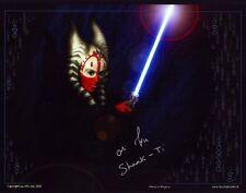 Orli Shoshan - Star Wars -  Autogramm - Original - Signed - Shaak Ti