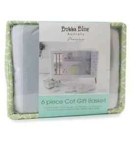Bubba Blue Baby Gift Basket Cot Set