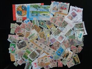 THAILAND MIXTURE OF USED STAMPS ON & OFF PAPER OLDER & MODERN - UNCHECKED