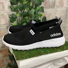 NEW Adidas Women's 2020 Lite Racer Slip-on BLACK Memory Foam Shoes PICK SIZE