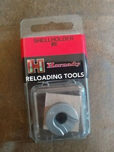 Hornady Shell Holder 6 38 357 magnum special mag max 7.62 390546 lee rcbs die