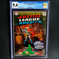 JUSTICE LEAGUE OF AMERICA #45 (1966) 💥 CGC 9.4 💥 1ST APP OF SHAGGY MAN!