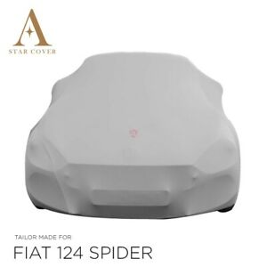 ABARTH / FIAT 124 SPIDER INDOOR CAR COVER - TAILORED - CUSTOM COVERS - GREY