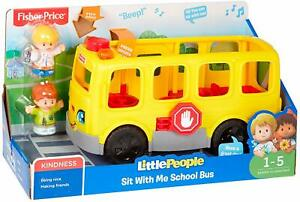 BOX DAMAGED Fisher-Price Little People Sit with Me School Bus