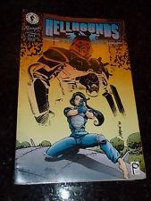 HELLHOUNDS : PANZER COPS  Comic - No 6 - Date 07/1994 - Dark Horse Comic