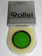 Rollei Grünfilter E 49 für Rolleiflex SL 35 in OVP