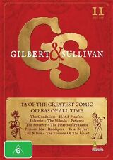 Gilbert & Sullivan (DVD, 2013, 6-Disc Set)