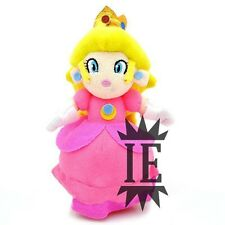 SUPER MARIO BROS. PEACH PELUCHE plush toad fungo principessa princess daisy new