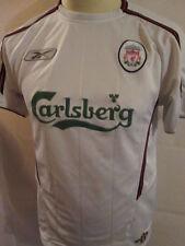 Liverpool 2003-2004 Away camiseta de fútbol Talla Pequeña
