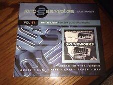Pro Samples Eastwest Vol. 17 Guitar Licks Skunkworks Jeff Baxter 2 CD's