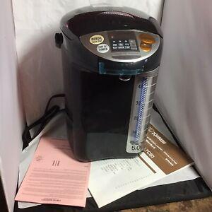 Zojirushi Commercial Water boiler Model CD-LTC50 Black NIB