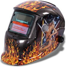 Pro Auto Darkening Welding Helmet Arc Tig mig Grinding Welders Mask Solar Weld