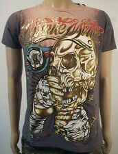 Minute Mirth Shirt.neu.Trash Skull Chain Fight Art Vintage Design Streetwear