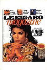 BF39805 le mystere jacson le figaro magazine    movie stars music