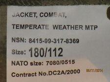 JACKET Combat temperate weather, MTP, Multi Terrain pattern, Tg. 180/112, MULTICAM