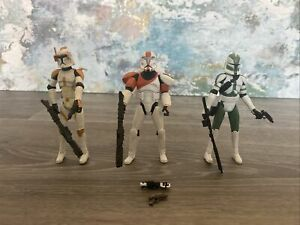 STAR WARS - CAPTAIN REX - BOSS - GREE - Figures With Weapons Accessories (1)