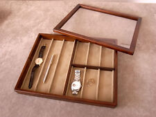 Wooden Watch Display Box Case Made in Japan / TOYOOKA CRAFT / MC002003