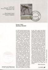 FDC / PREMIER JOUR / ART / TABLEAU / GERMAINE RICHIER STRASBOURG 1993