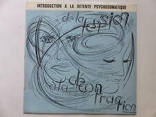 introduction a la detente psychosomatique MAURICE GABAI JACQUES LOST AS693010