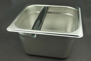Stainless Steel Barista-Style Coffee Knock Box,Espresso Knock Box, easy to clean
