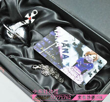 Free Shipping Silver NANA Lighter Necklace Shinichi Cosplay Ai Yazawa with box