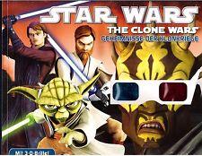 Star Wars - The Clone Wars/in 3D mit 3D Brille/Geheimnisse der Klonkrieger/ Neu