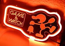 Sb382 Game & Watch Game Nintendo Decor Neon Light 3d Acrylic Sign New 11x7