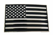 US USA American Flag Country Belt Buckle Men Women Fashion Western Cowboy Girly