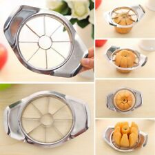 8 Blades Apple Slicer Cutter Apple Fruit Corer Stainless Steel Kitchen Tool US