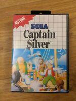 Captain Silver Sega Master System Game Boxed Missing Manual - Free P&P