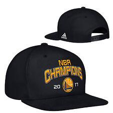 Golden State Warriors adidas 2017 NBA Finals Champions Snap Back - Black