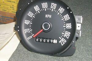 NOS 220 KMH Police Speedometer 1972 1973 1974 75 1976 Ford Torino/Montego/Cougar