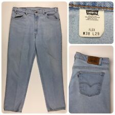 Vintage Levis Mens 540 Flex W38 L29 Copper Tag Jeans Cotton Blend U.S.A. Made