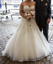 Ivory Wedding Dress Mori Lee by Madeline Gardner RRP £1600 Size 12