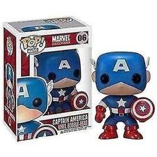 Funko - Captain America Marvel Pop! Vinyl Bobble Head #06 New In Box