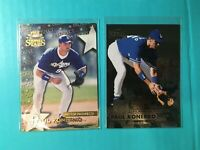 PAUL KONERKO 2 CARD LOT 1998 FLEER METAL & 1997 TOPPS STARS '97 TOP PROSPECT 105