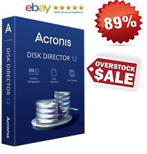 ✅ Acronis Disk Director 12 Data Recovery, Partition Management for windows 5PC ✅