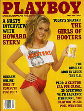 PLAYBOY APRIL 1994-C - BECKY DELOS SANTOS - GIRLS OF HOOTERS!