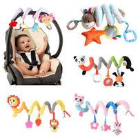 Newborn Baby Crib Cot Pram Hanging Rattle Soft Spiral Bed Stroller Car Seat Toy