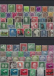 Bundesrepublik aus 1949 - 2006 gestempelt